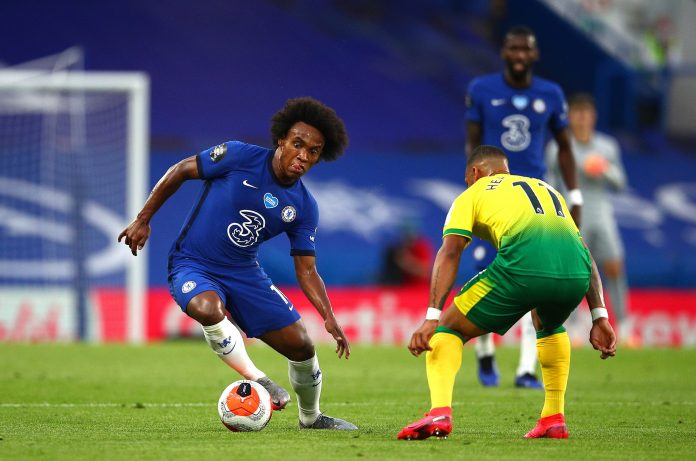 Willian has won two Premier League titles since joining Chelsea for £30million in 2013