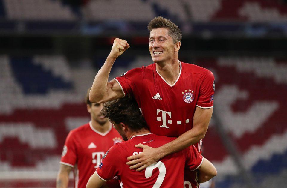 Lewandowski helped Bayern Munich win the treble last season