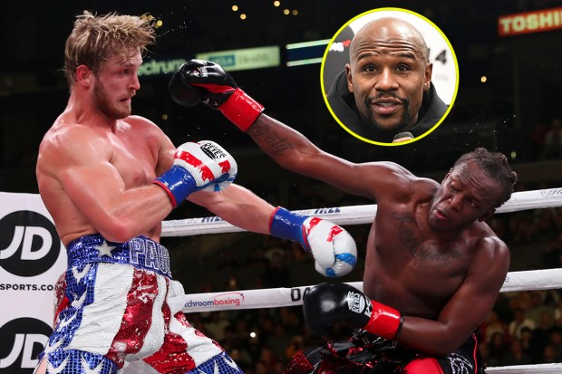 KSI has made some huge claims about Floyd Mayweather and Mike Tyson... ... - FLOYD PAUL 3 - 2021