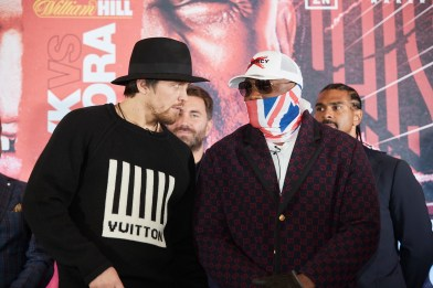 Oleksandr Usyk vs Derek Chisora officially rescheduled with new date  announced, Usyk must win to remain mandatory for Anthony Joshua