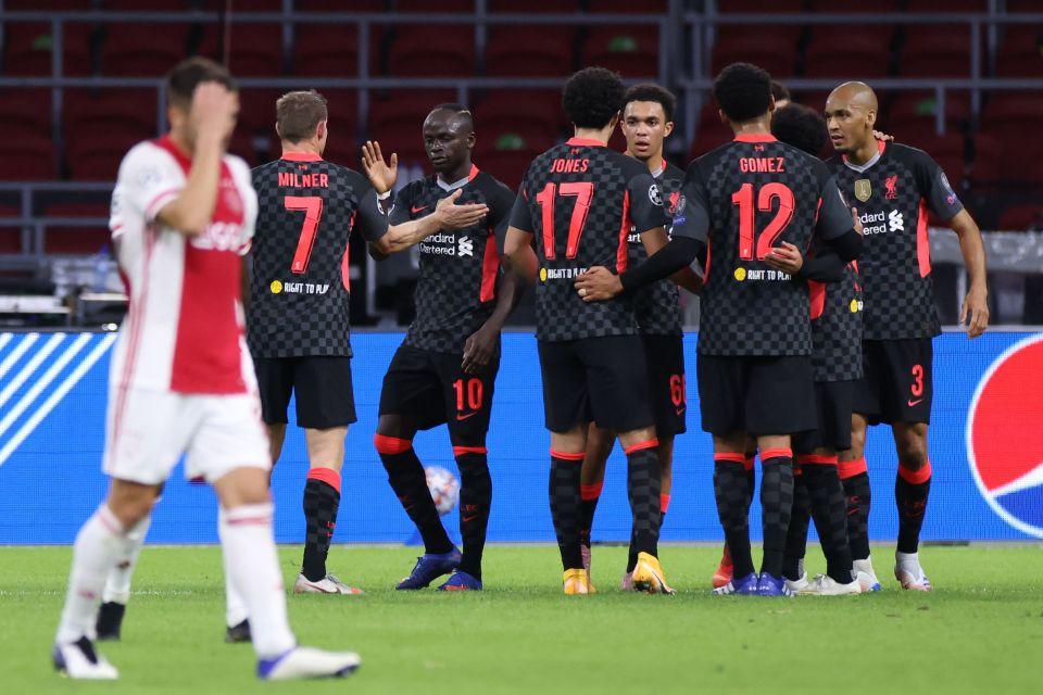 Liverpool beat Ajax 1-0 in their group opener last week