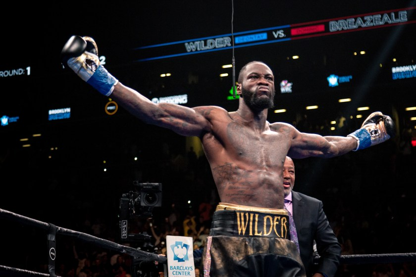 Deontay Wilder can't wait to return to the ring
