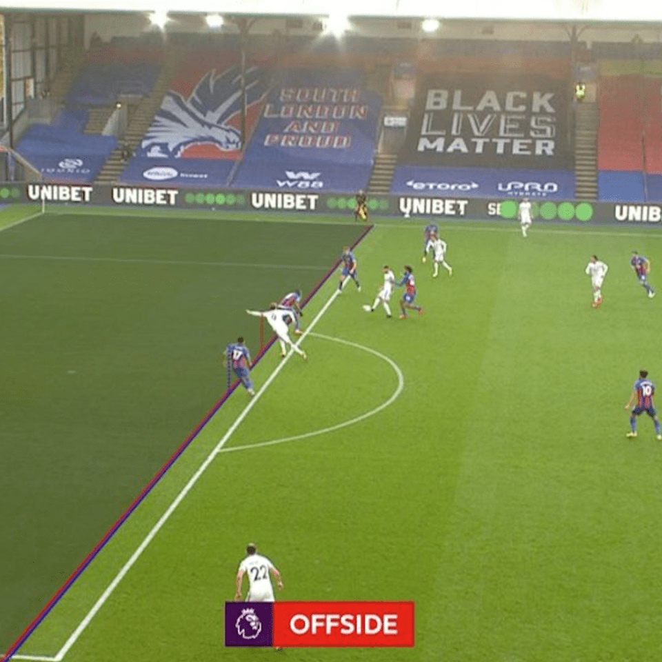 Goals like this, which was ruled offside, may stand in the Premier League next season