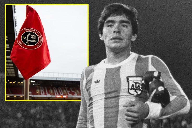 Sheffield United signed the likes of Alex Sabella and Pedro Verde but just missed out on the big one – Maradona