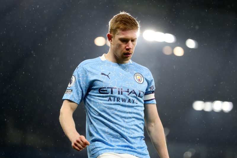 De Bruyne has been the key player in City's three title wins since 2017