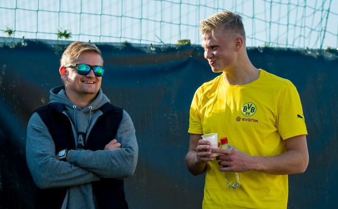 Haaland's dad looks after his son's career interests and will hold sway on where he goes