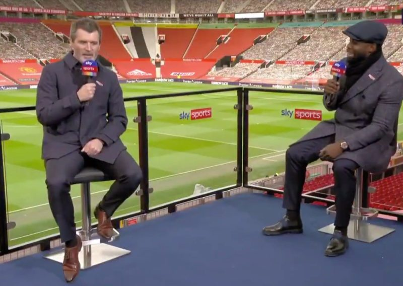 There is never a dull moment when Keane and Richards are on our screens