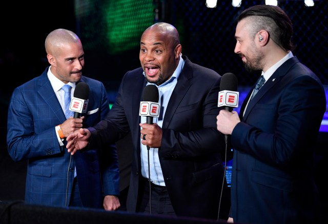 Daniel Cormier and the commentary team couldn't believe it!