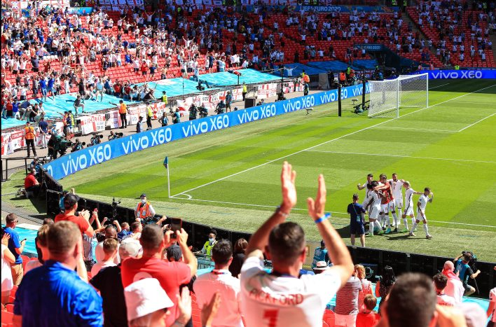 Kısıtlamaların kaldırılmasındaki gecikme, önümüzdeki haftalarda Wembley'de artan kapasiteyi etkilemiyor