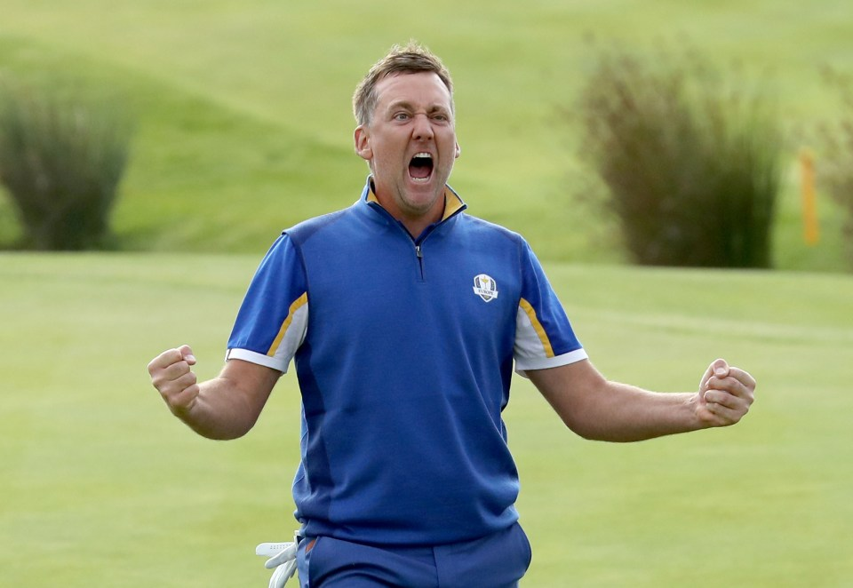 The Englishman is a Ryder Cup specialist
