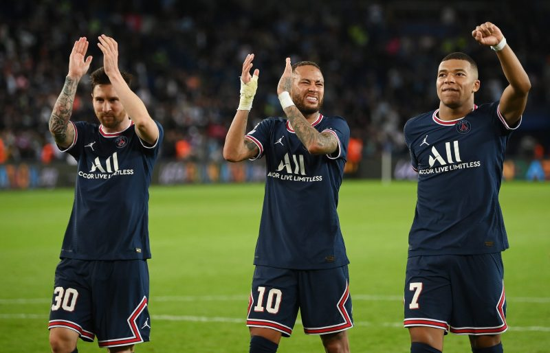 PSG's superstars delivered their first big performance together
