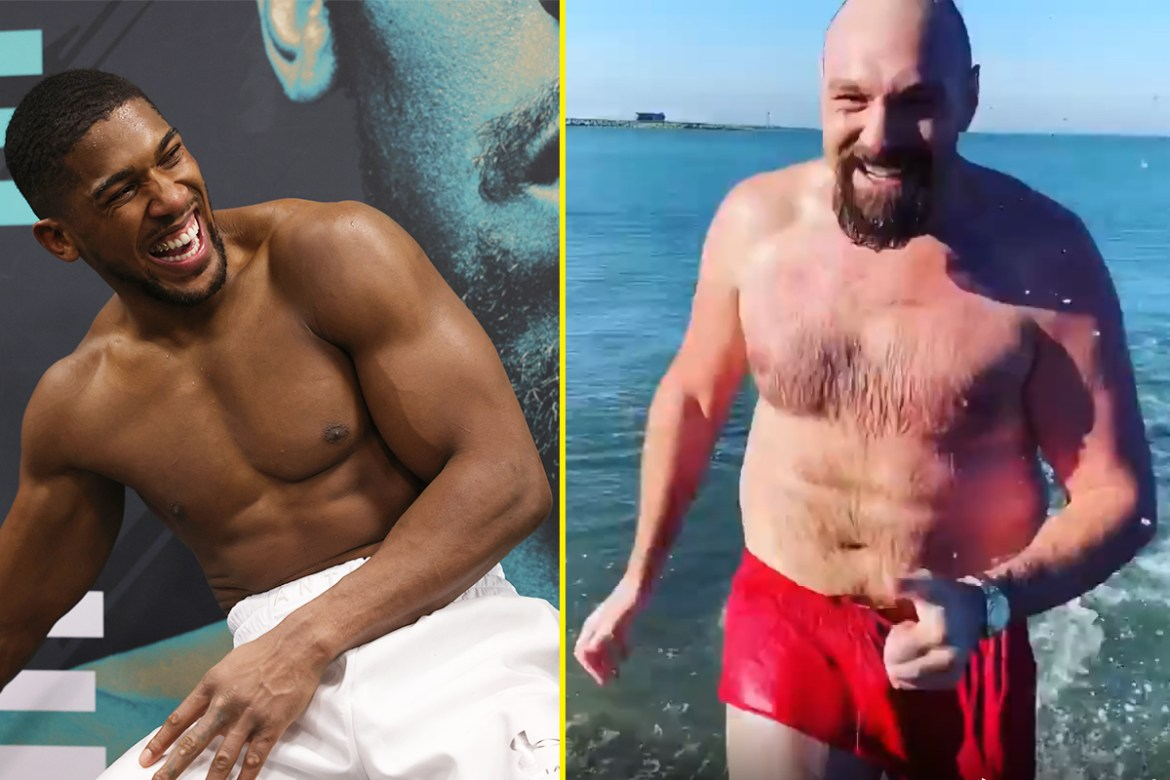 When will AJ and Fury go toe-to-toe?