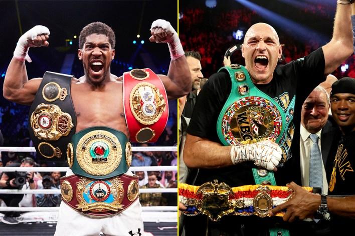 Anthony Joshua ve Tyson Fury, 14 Ağustos'ta Suudi Arabistan'da savaşmaya hazırlandı ...