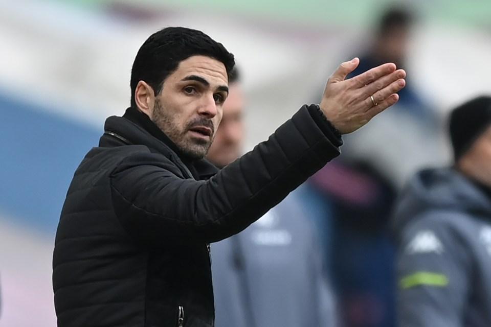 Arteta faces a fight to qualify for European football again this season