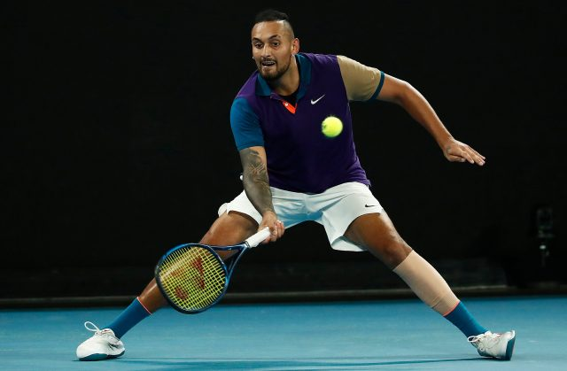 Kyrgios was defeated by Thiem in a five-set thriller