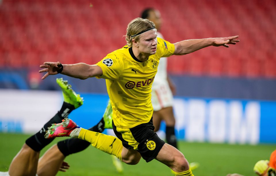 Erling Haaland was in top form in the Champions League this week
