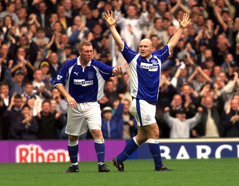 Gravesen moved to Everton in 2000 and was quite the character - no one could blame him for moving to Real Madrid
