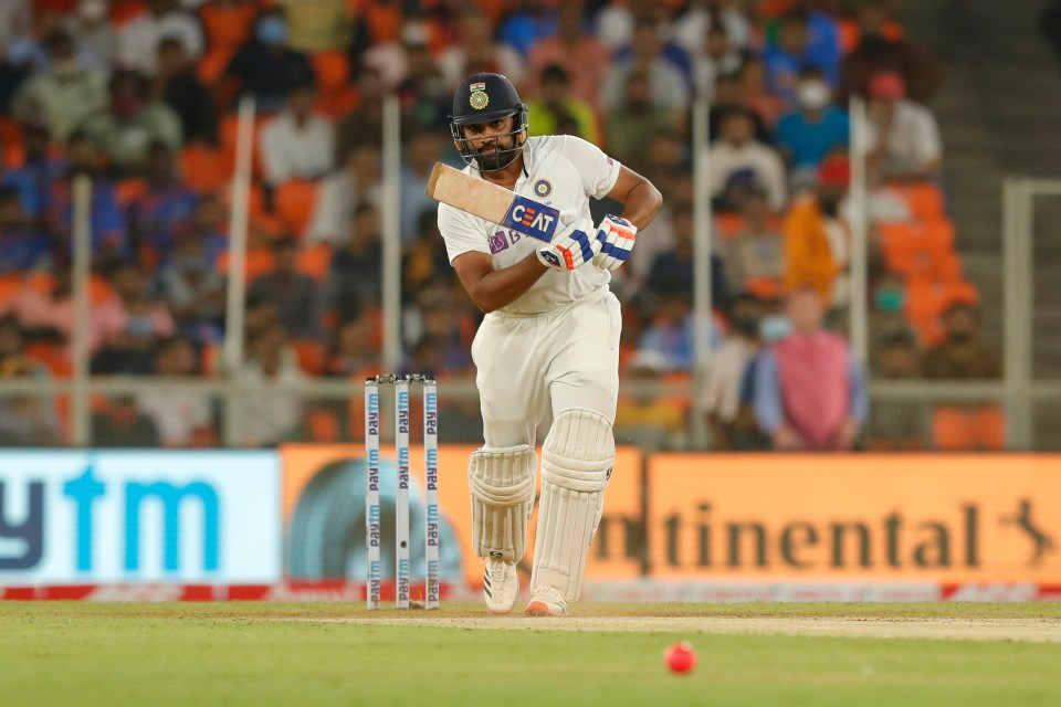 Rohit Sharma turned 50 before the match ended on day one
