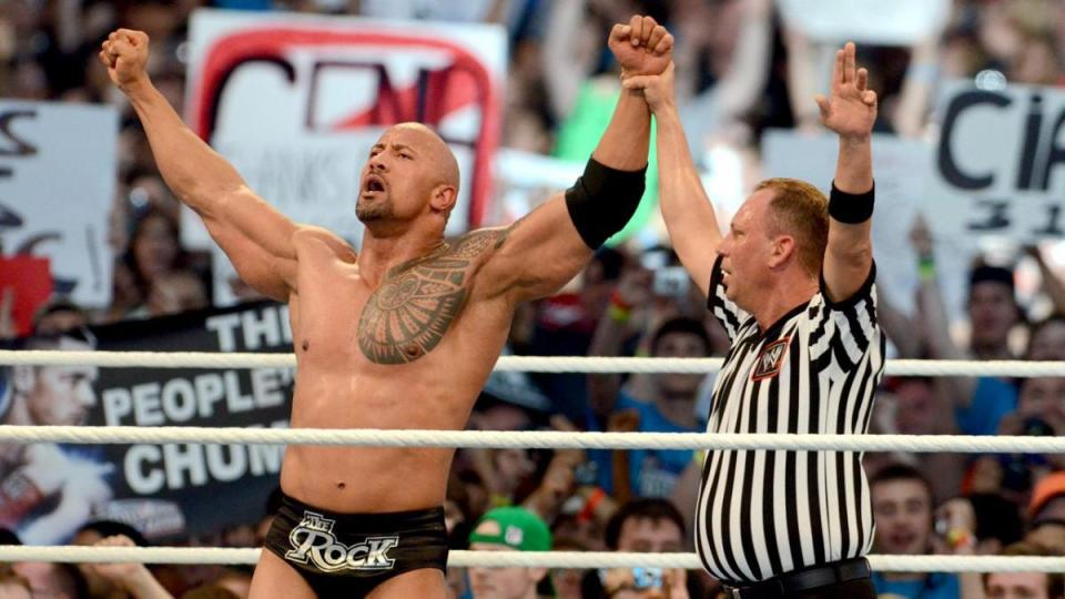 Chioda refereed The Rock's big win over Cena