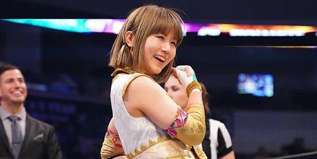 Yuka Sakazaki was gaining momentum in AEW before pandemic