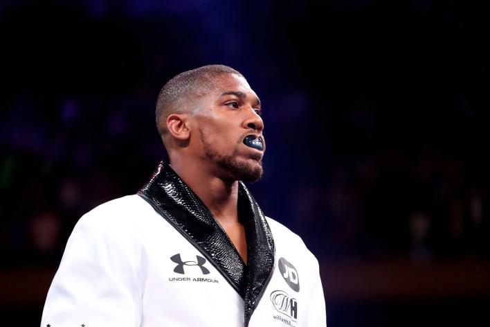 Joshua şimdi bir sonraki rakibi için başka bir yere bakacak - muhtemelen WBO zorunlu Oleksandr Usyk