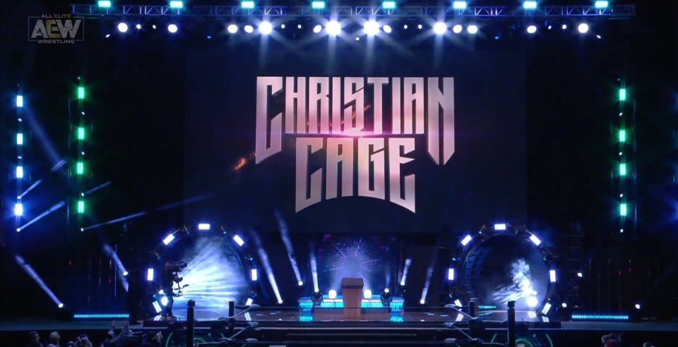 The crowd exploded for Christian appearing in AEW