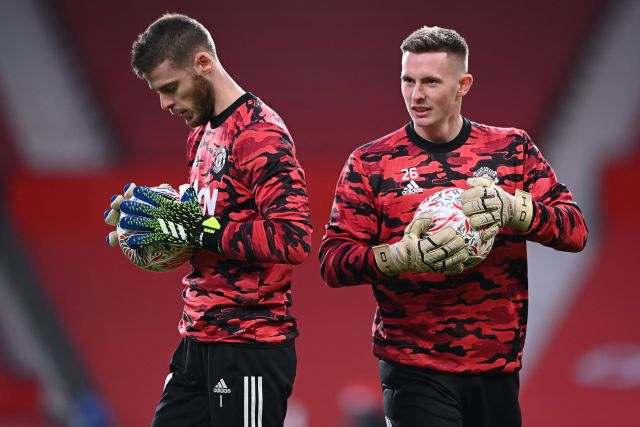 Henderson is ready to replace De Gea as Man United's no.1