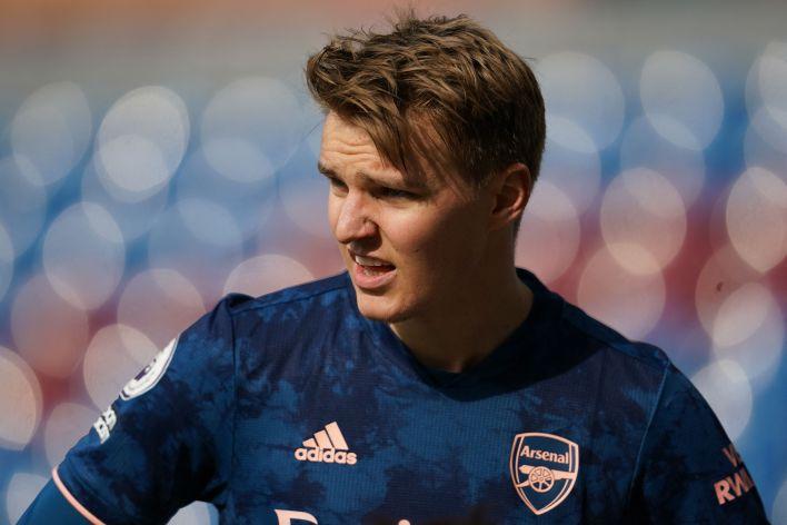 Odegaard, bu sezonun başlarında kuzey Londra derbisinde gol atarak Arsenal taraftarlarına kendini sevdirdi - takımdaki etkisi, Gunners için 19 maçta iki gol ve bir asistlik rekorunun ötesine geçti.