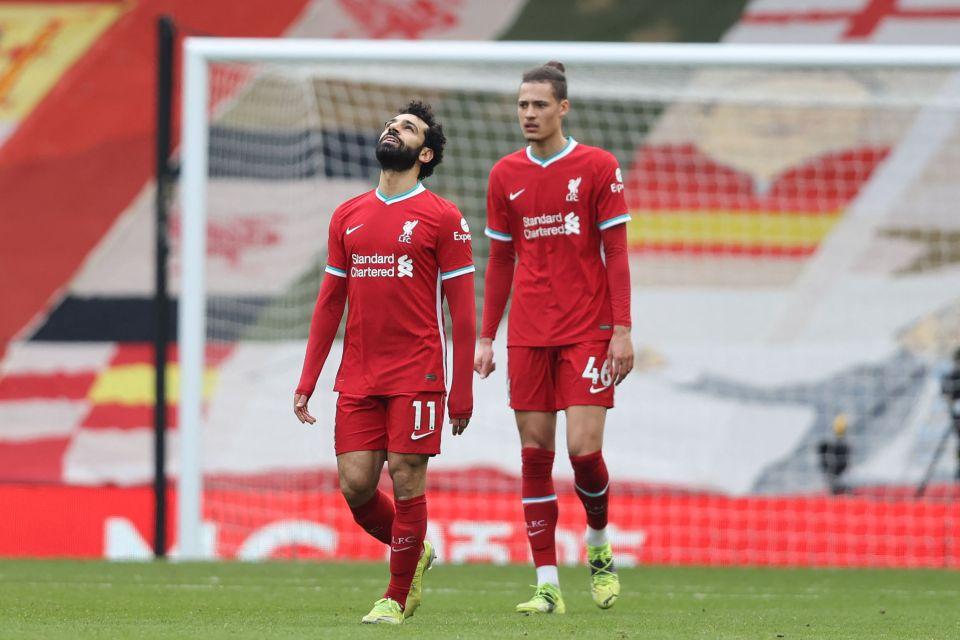 Salah is on a four game scoreless run