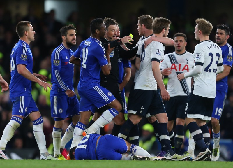 Chelsea's ill-tempered game with Tottenham in 2016 is known as 'The Battle of the Bridge'