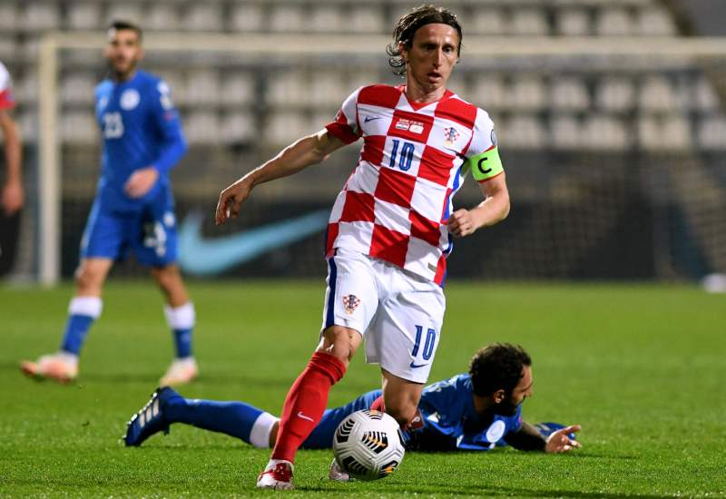 Luka Modric is Croatia's most capped player ever and will again look to be the scourge of England
