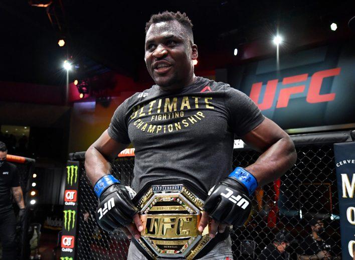 Francis Ngannou, belki de gelmiş geçmiş en korkunç UFC ağır siklet şampiyonu