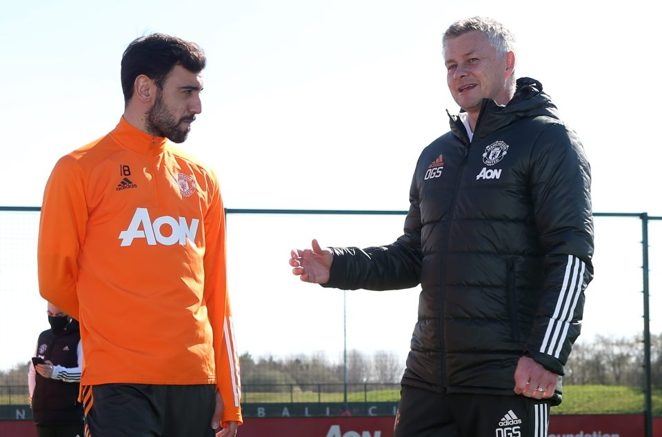 Fernandes believes United are going in the right direction under Ole Gunnar Solskjaer leadership