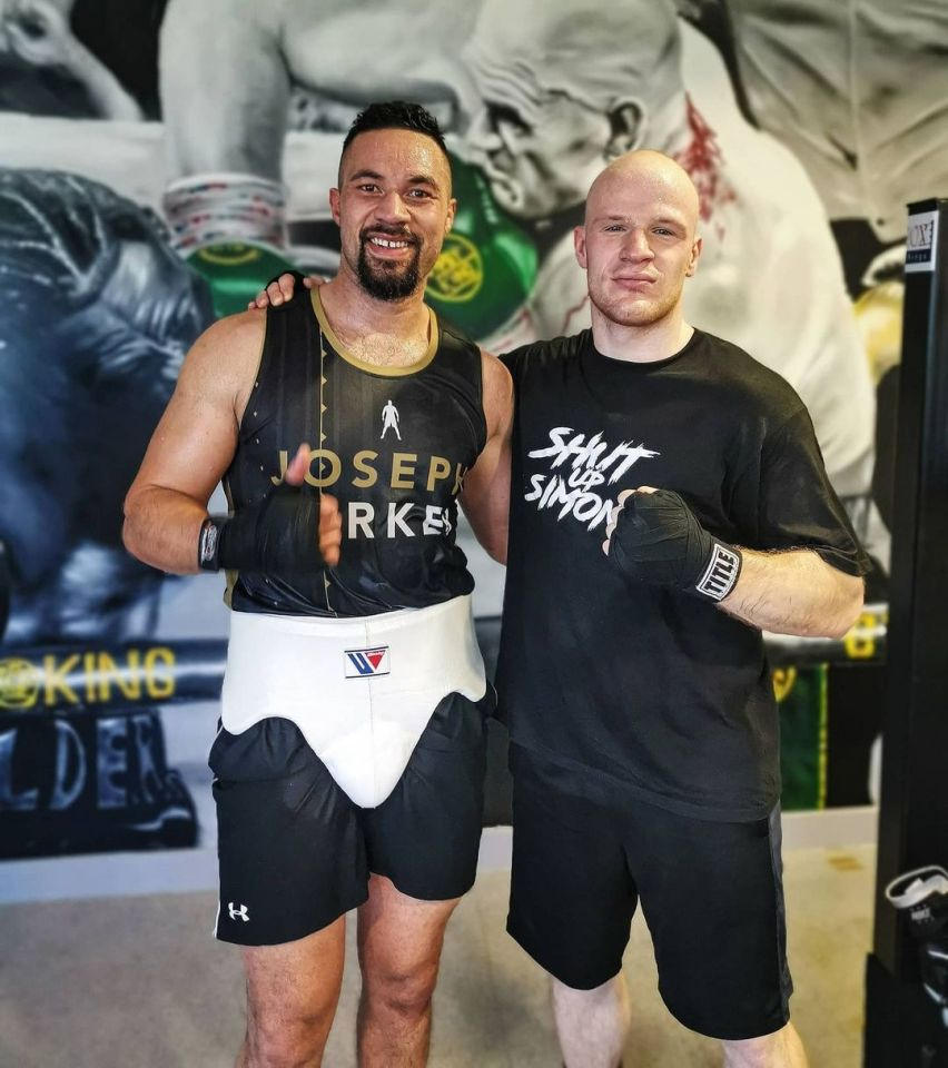 It seems very likely he was taken to the gym to help Parker prepare for Chisora
