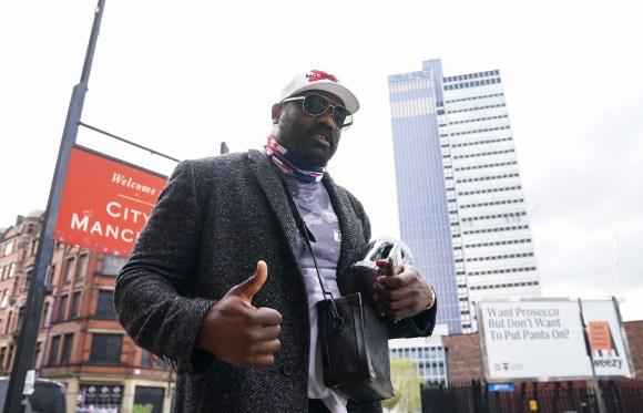 Dereck Chisora will take on Joseph Parker on May 1