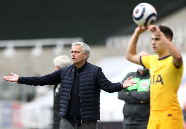 Mourinho held nothing back in his assessment of his Tottenham players after the Newcastle game