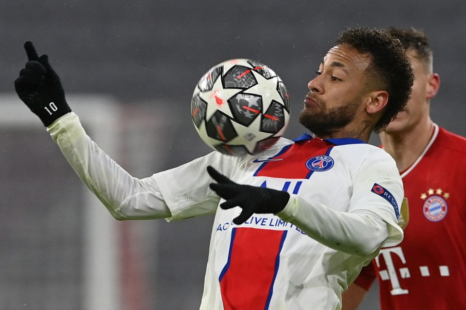Neymar also had a great game against Bayern but was not put on the scoresheet