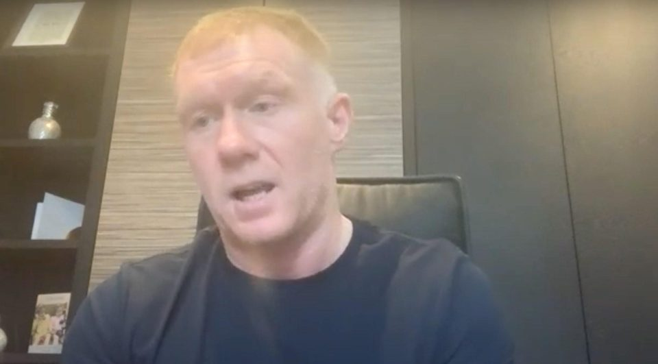 Scholes worked extensively with Lingard early in his United career