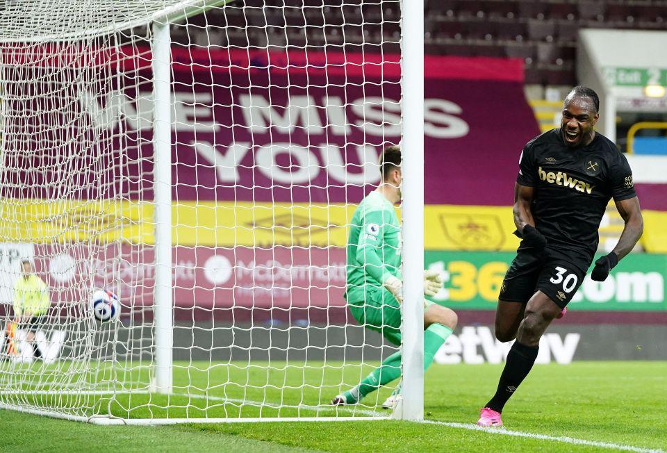 Burnley couldn't contain Antonio's return