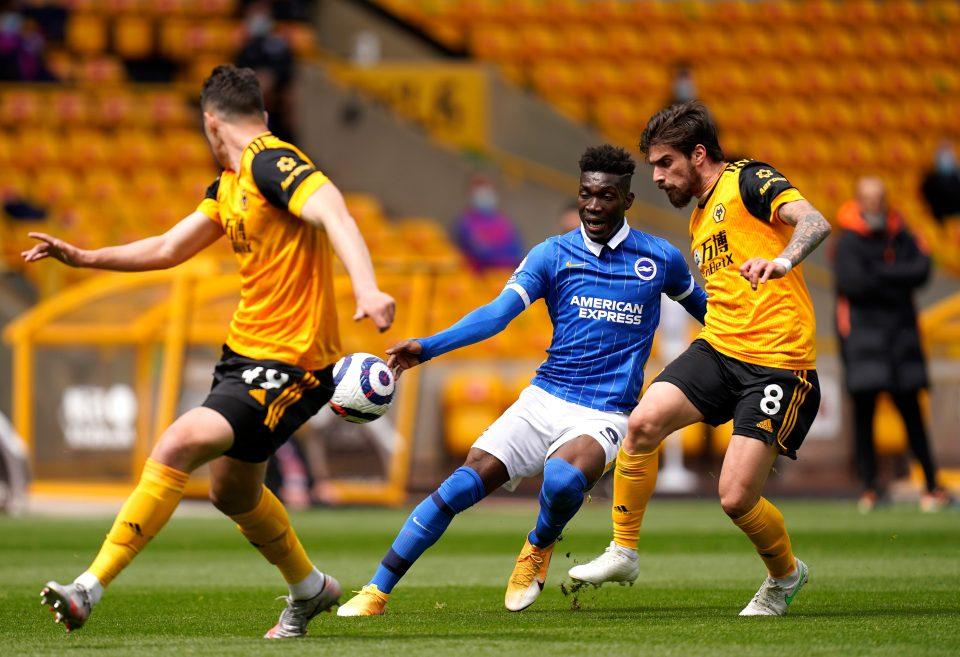 Bissouma impressed in relegation battle