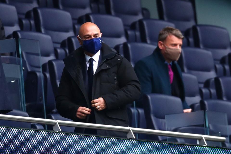 Tottenham chairman Daniel Levy values Kane at £ 150million