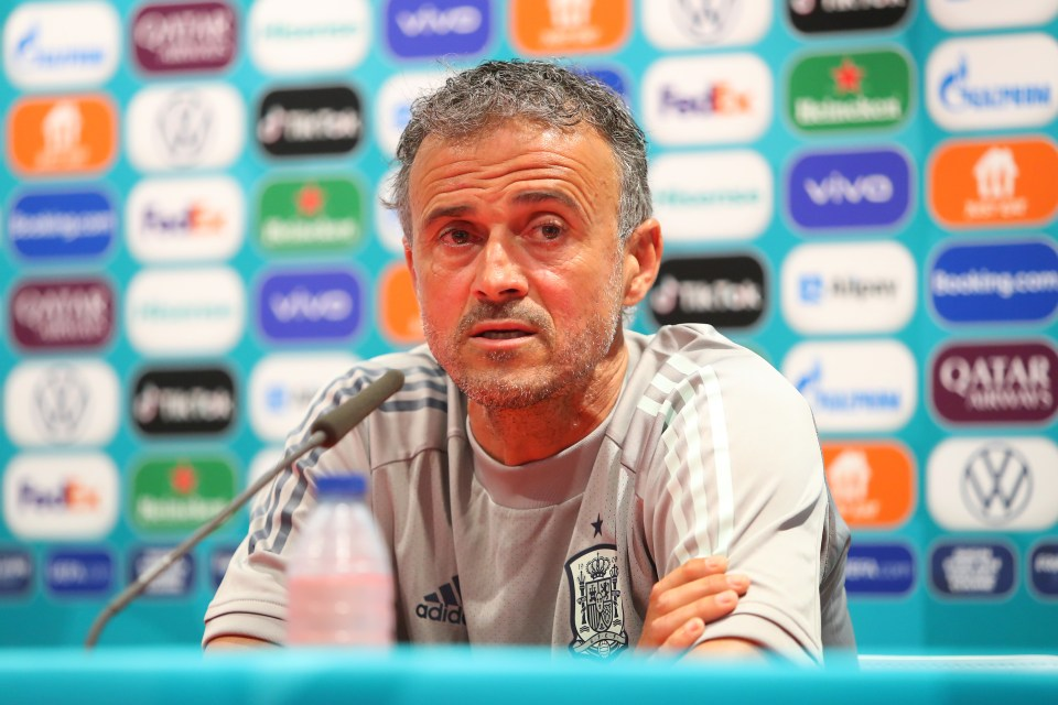 Luis Enrique made the difficult decision to completely leave the Real Madrid captain on the sidelines