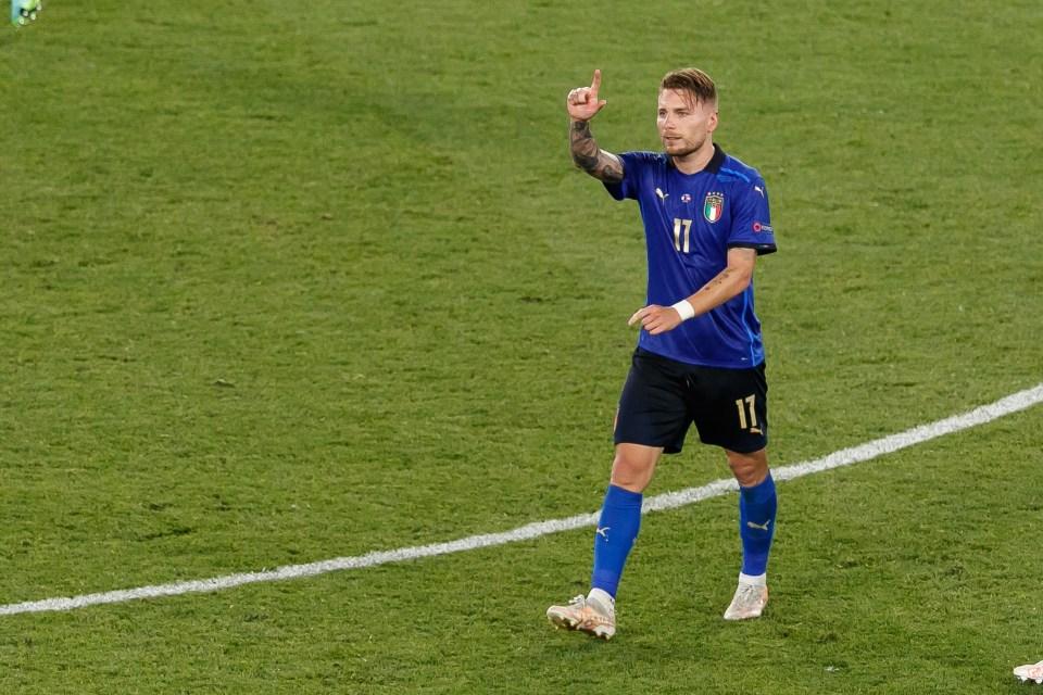 Immobile runs after Euro 2020 Golden Boot