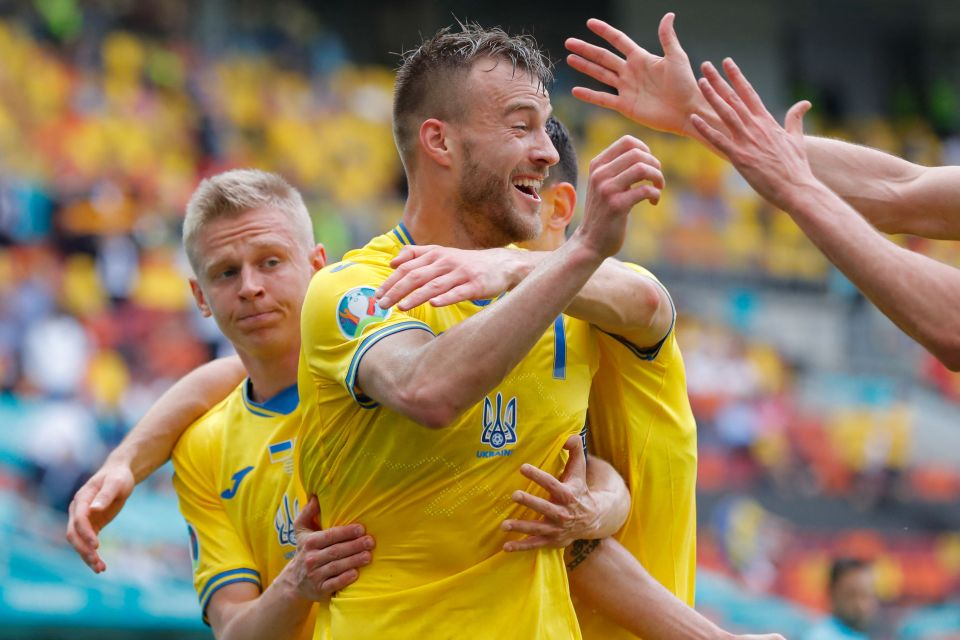 Yarmolenko gives Ukraine the lead over North Macedonia