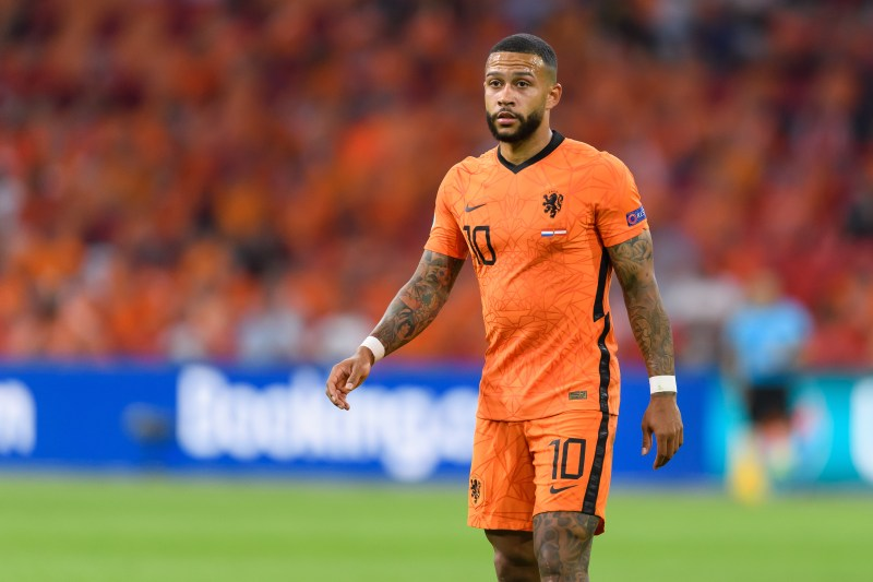 Depay is hoping to lead Netherlands to Euro 2020 glory this summer