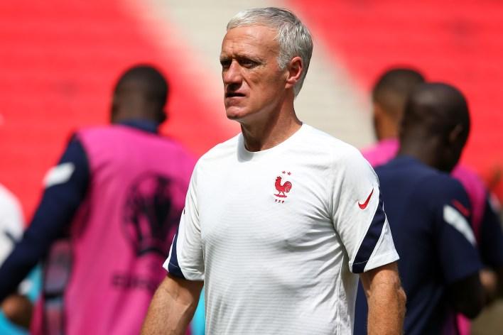 Deschamps, Mourinho'nun Fransa için tahmininden etkilenmiş gibi görünüyor