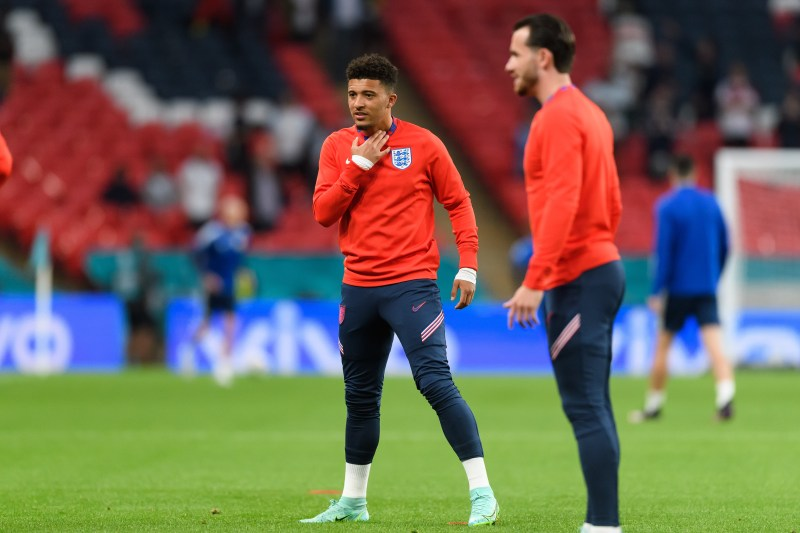 Sancho is pushing for a start in England's final group game at Euro 2020