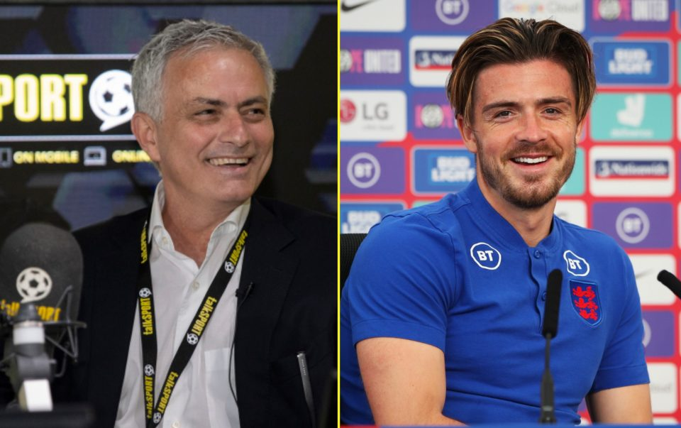 Mourinho was an analyst for talkSPORT during Euro 2020 and praised Grealish aka Figo