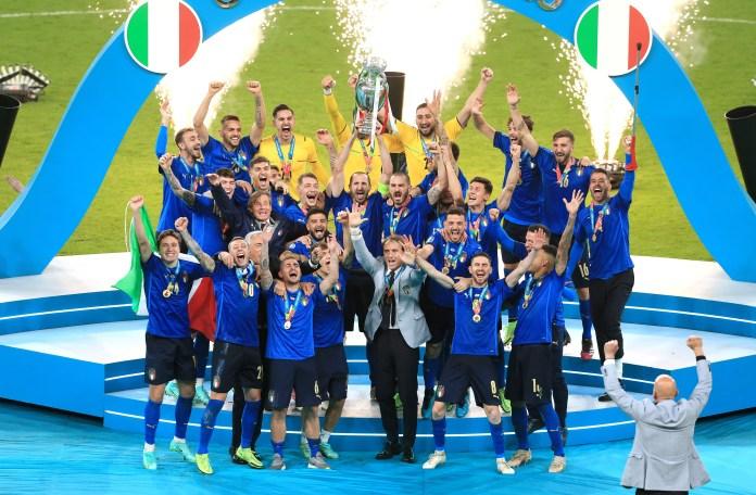 Mancini planejou o retorno da Itália ao topo, com os Azzurri sagrados campeões europeus pela segunda vez