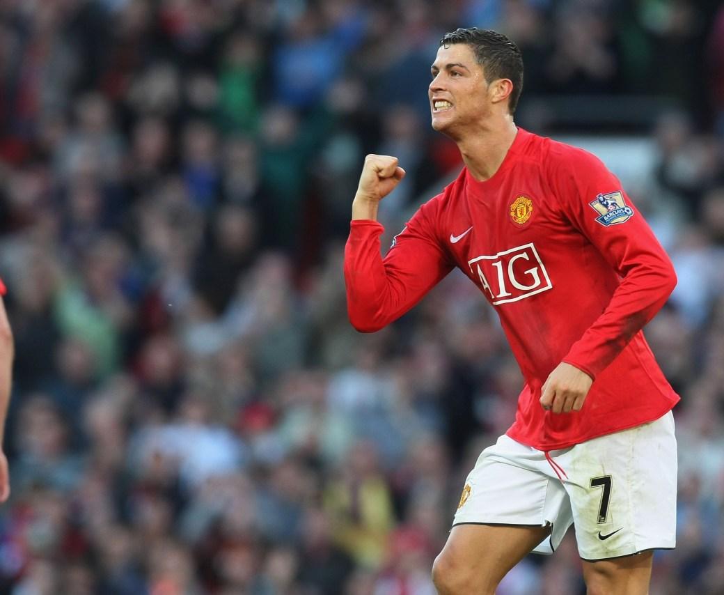 Ronaldo spent six illustrious seasons at Old Trafford
